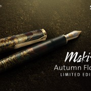 Maki-e Autumn Flowers