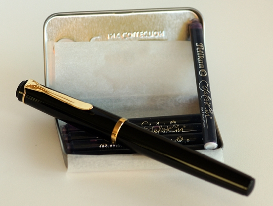 Pelikan P200 Fountain Pen and Edelstein Ink Cartridges
