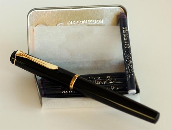 Pelikan P200 Fountain Pen and Edelstein Ink Cartridges