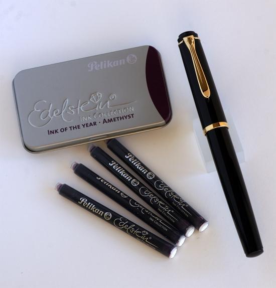 Pelikan P200 and Edelstein Ink Cartridges