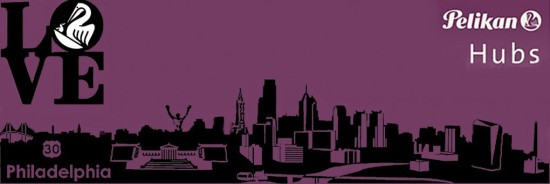 Pelikan Hubs 2015 Custom Philadelphia Logo