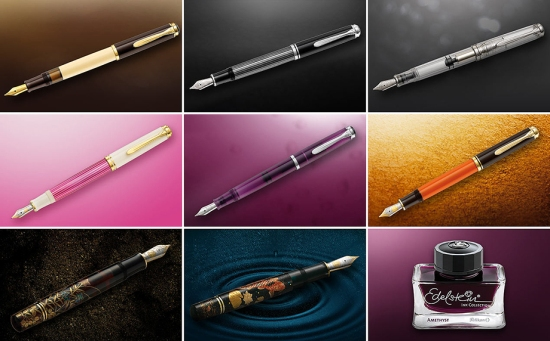 Pelikan 2015 Fountain Pen & Ink Releases