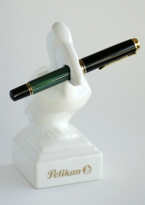 Pelikan M1000 Green Striped Fountain Pen