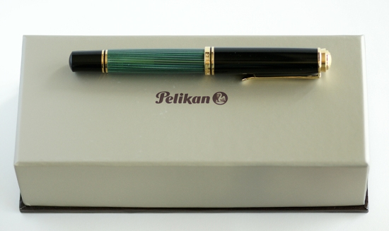 Pelikan M1000 Green Striped With Packaging