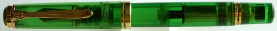 Pelikan M800 Transparent Green Collector's Edition Capped