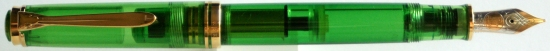 Pelikan M800 Transparent Green Collector's Edition Posted