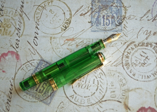 Pelikan M800 Transparent Green Collector's Edition
