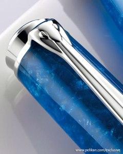 Pelikan M805 Vibrant Blue Cap