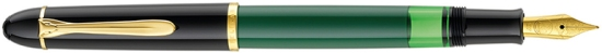 Pelikan M120 Green-Black Fountain Pen from 2016