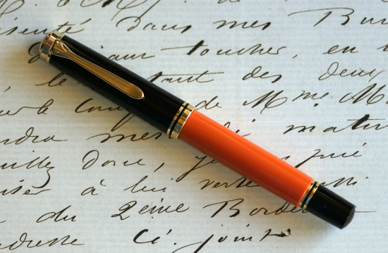 Pelikan M800 Burnt Orange