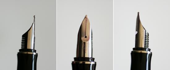 Pelikan P3100 Ductus fountain pen nib