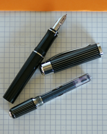 Pelikan P3100 Ductus fountain pen disassembled