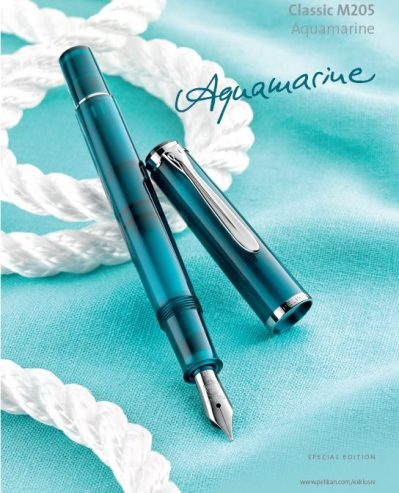 Pelikan M205 Aquamarine Fountain Pen