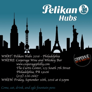 Pelikan Hubs 2016 Philadelphia Invitation