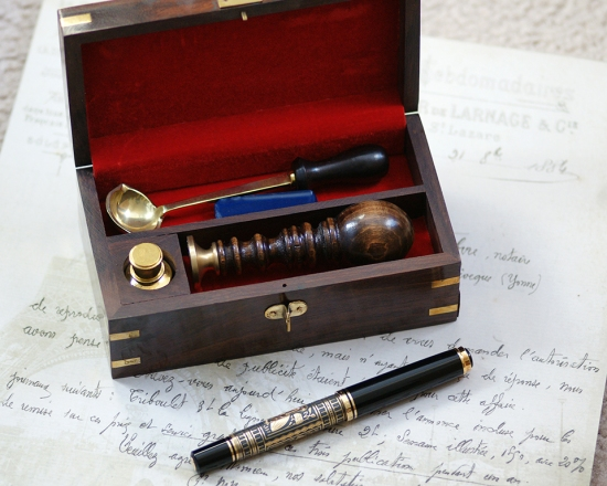 Pelikan M900 Toledo with Wax Seal Kit