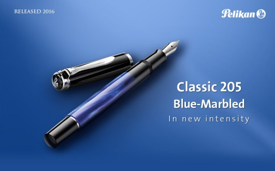 Pelikan M205 Blue-Marbled
