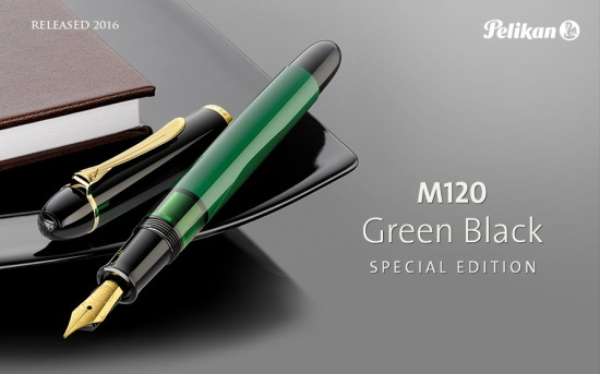 Pelikan M120N Green-Black