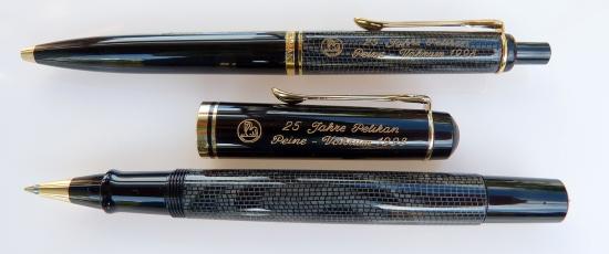 Pelikan K200 & R200 Snakeskin pens (Anniversary edition)