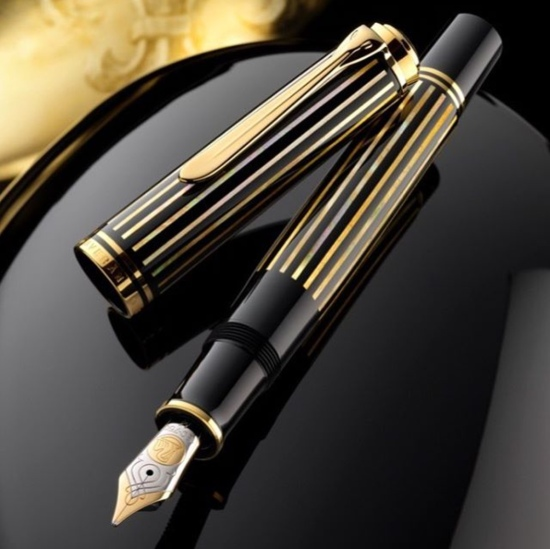 Pelikan M800 Royal Gold Raden