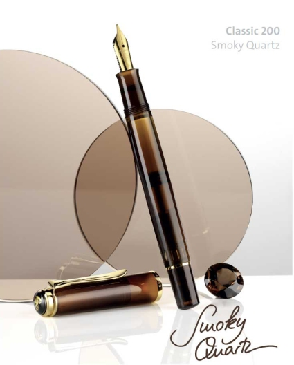 M200 Smoky Quartz Fountain Pen