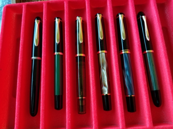 Brad Merill's Pelikan Pen Collection