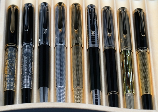 Pelikan M7xx and M4xx Fountain Pens