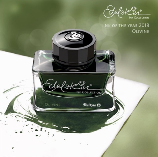 Pelikan Olivine Edelstein Ink of the Year 2018
