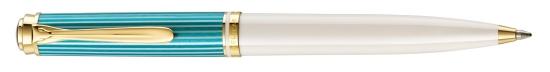 M600 Turquoise-White Ballpoint Pen