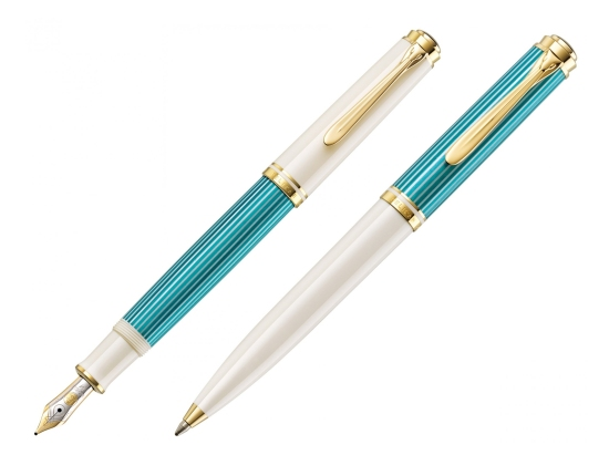 M600 and K600 Turquoise White Pens