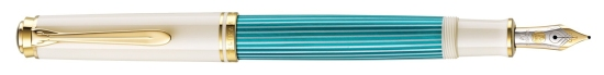 M600 Turquoise-White Fountain Pen