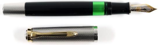 Pelikan M730 Prototype, Silver/Black, 1988