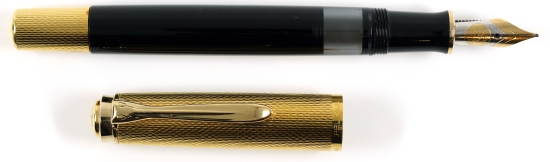 Pelikan M730 Prototype, Gold/Black, 1988