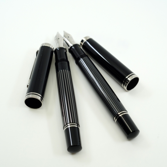 Pelikan M805 Stresemann and M815 Metal Striped