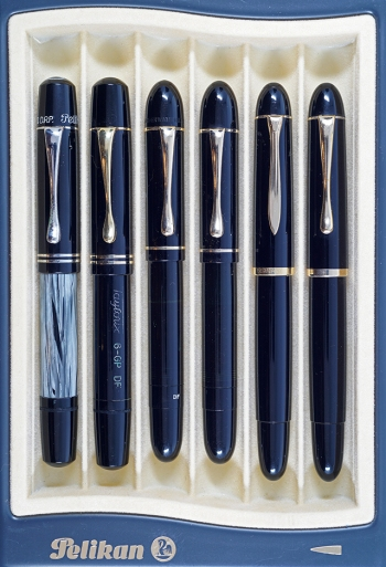 Pelikan and Taylorix branded 100N, 130 Ibis, and 140s