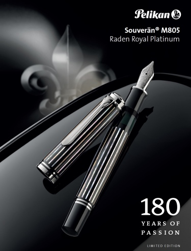 Pelikan M805 Raden Royal Platinum