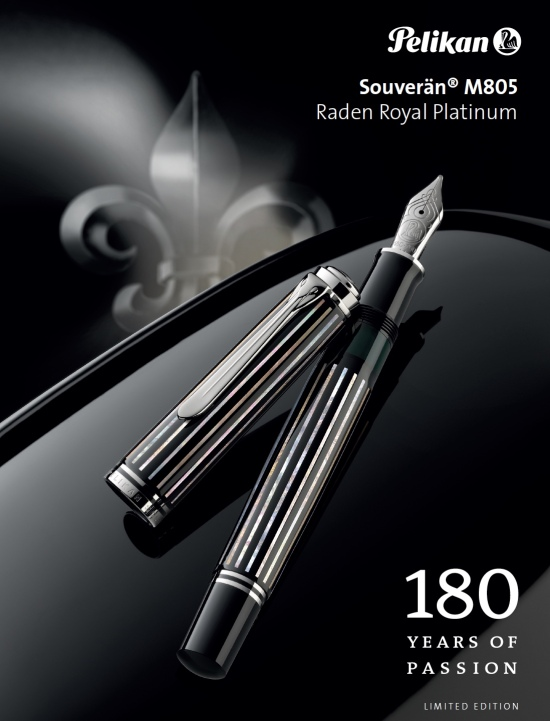 Pelikan M805 Raden Royal Platinum