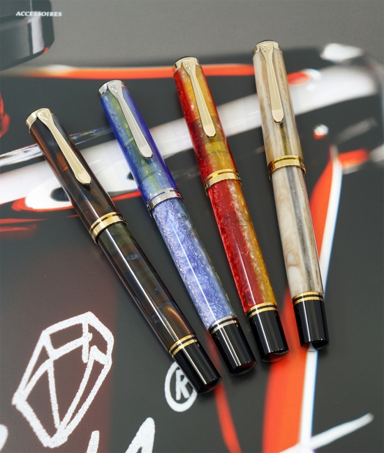 Pelikan M620 San Francisco, Athens, Shanghai, and Piazza Navona