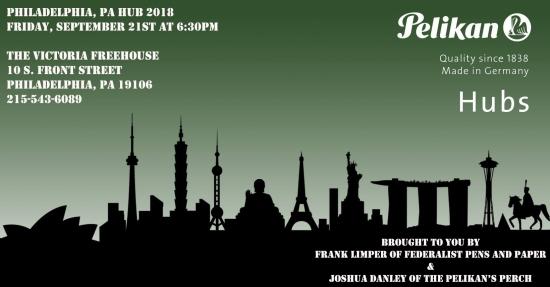 Pelikan Hubs 2018 Philadelphia Invitation