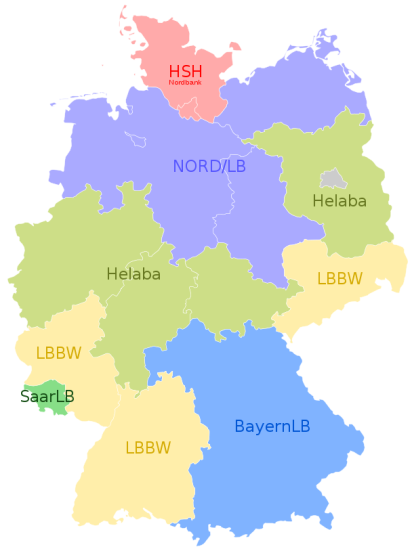 Landesbanken in Germany as of November 2017