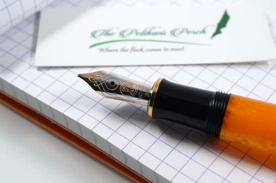 Pelikan M600 Vibrant Orange