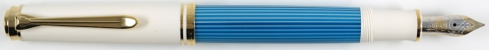 Pelikan M600 Turquoise-White