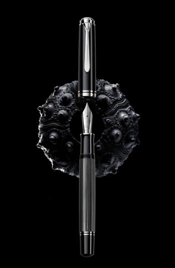 Pelikan M1005 Black/Anthracite Stresemann