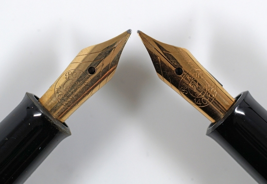 Pelikan 140 nibs