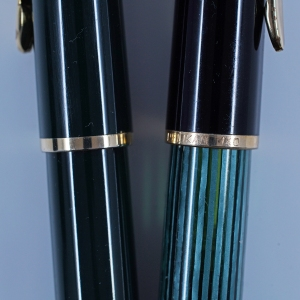 Pelikan 140 cap band engravings