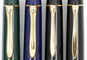 Changes to the beak clip over time on the Pelikan 140