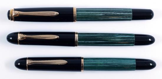 Pelikan 400N, 300, and 140 Fountain Pens