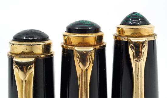Pelikan 400, 400N, and 400NN cap tops