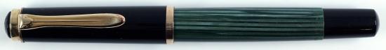 Pelikan Green/Black striped 400