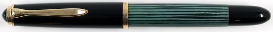 Pelikan Green/Black striped 400NN