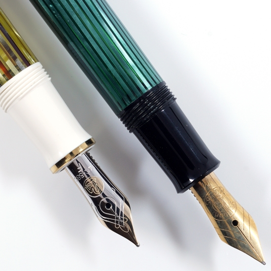 Pelikan M400 sections